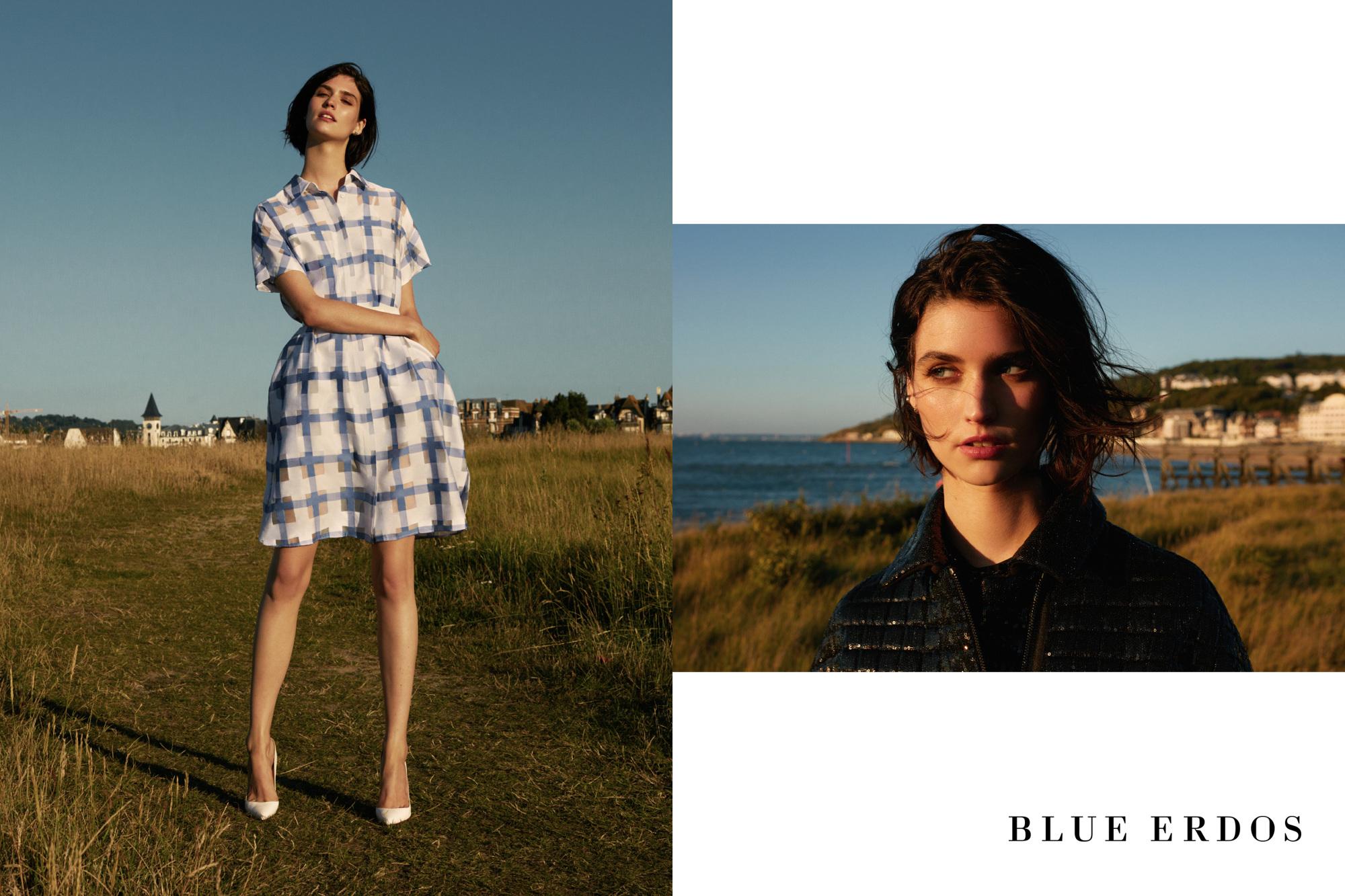 Blue Erdos 2016 S S Campaign Jumbo Photographe Fashion
