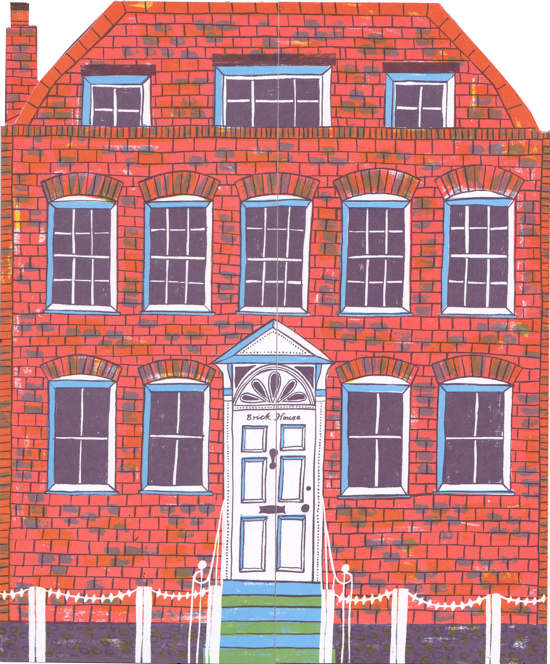 Brick House Alice Pattullo Illustration